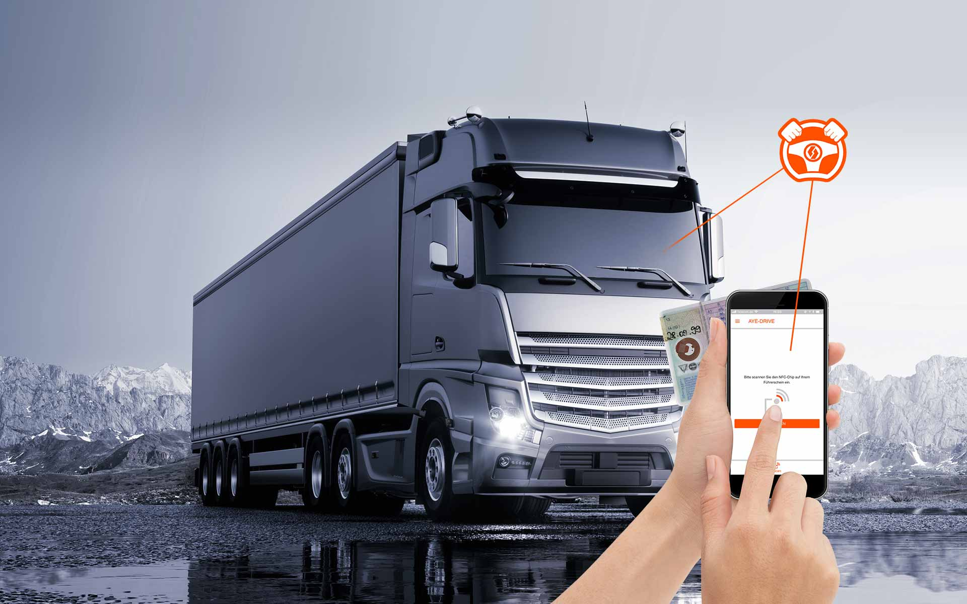 AYE-DRIVE digitale Führerscheinkontrolle