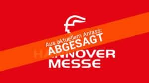 Hannovermesse abgesagt