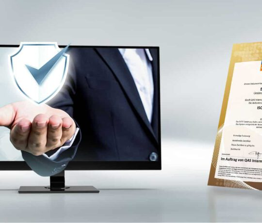 Erfolgreiche ISO Zertifizierung