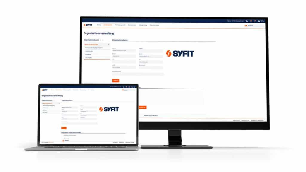 Screenshot Organisationsverwaltung Betriebsmittelprüfung AYE-D.NET