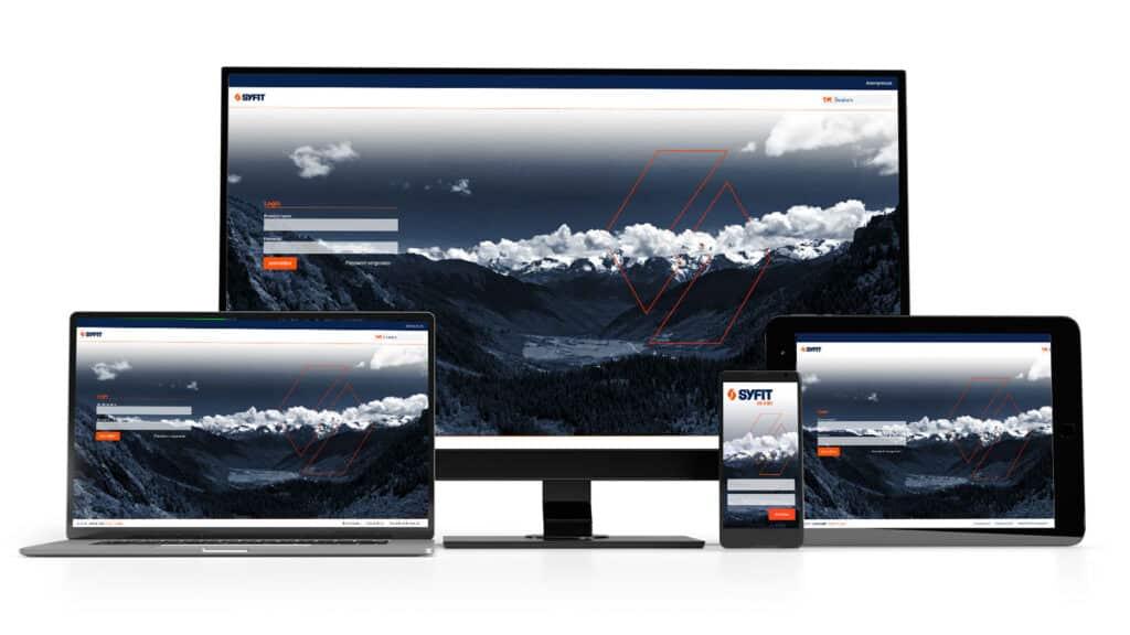 Screenshot der Anmeldeseite digitale Betriebsmittelprüfung AYE-D.NET