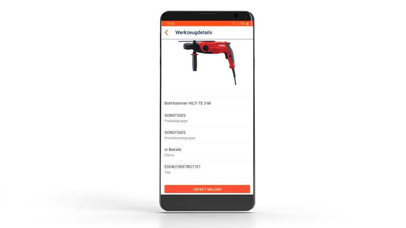 Werkzeugverwaltung App 4