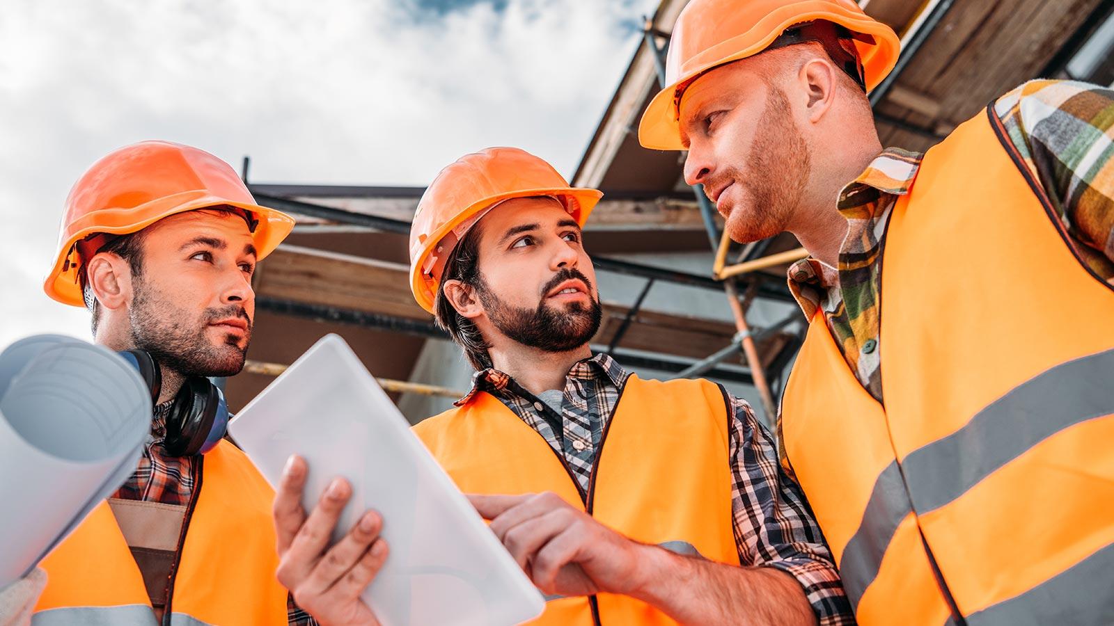 Digitaler Bau auf der Suche nach Werkzeugen und Baumaterialien