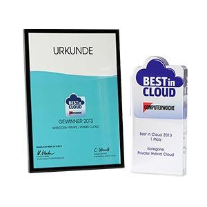 Best In Cloud Award