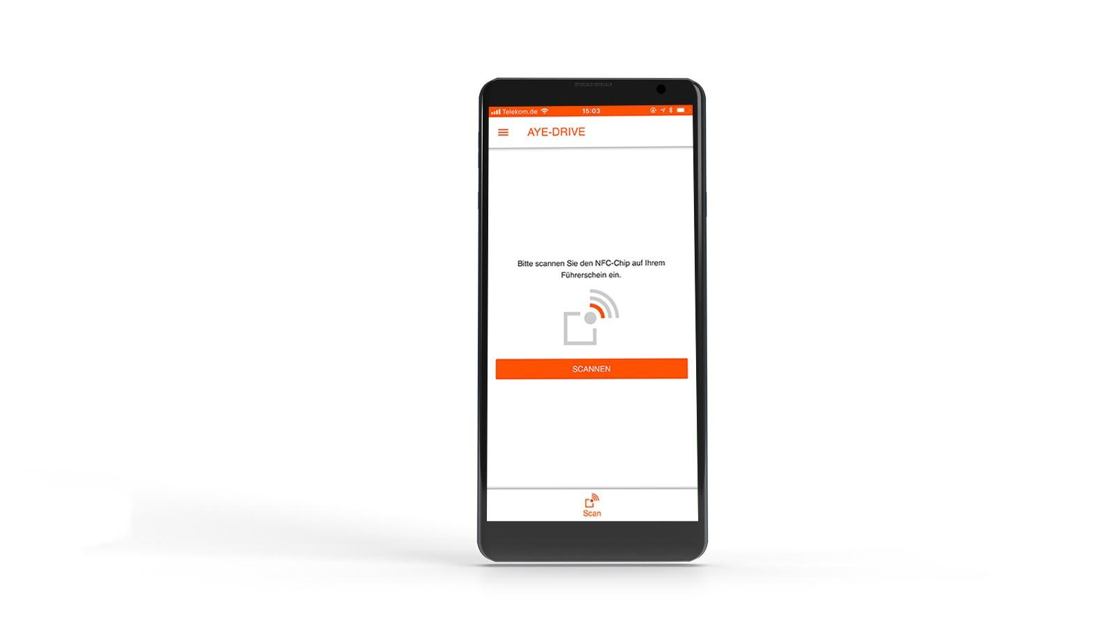 Führerscheinkontrolle Smartphone App